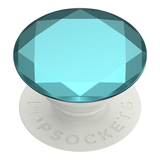 PopSockets PopGrip - Metallic Diamond Aquarius Blue