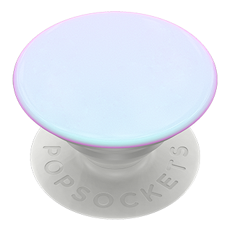 PopSockets PopGrip - Color Chrome Mermaid White