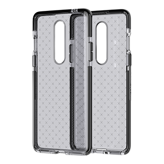 Tech21 Evo Check Case for OnePlus 8 5G - Smokey/Black