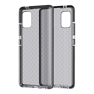 Tech21 Evo Check Case for Samsung Galaxy A71 - Smokey/Black