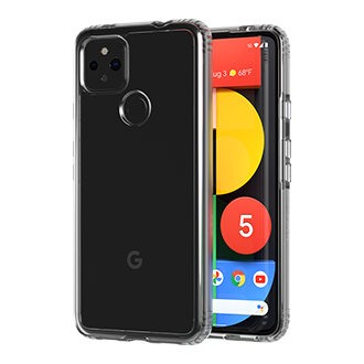 Tech21 Evo Clear Case for Google Pixel 4a 5G - Clear