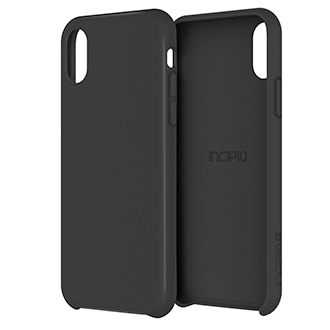 Apple iPhone X Incipio Siliskin Case - Black Slim And Sleek, The Siliskin Case Provides Lightweight Protection Without Adding Bulk To Your Device. It's Constructed With Silky-Soft Silicone That Feels Comfortable In Your Hand, While A Micro-Texture Bumper With A Slightly Raised Bezel Provides Excellent Grip And Added Screen Protection.