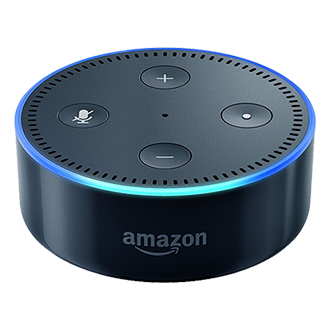 Amazon Echo Dot Smart Speaker with Alexa - Black