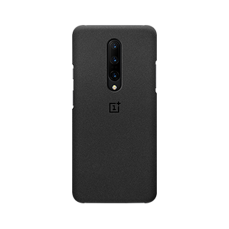 OnePlus Sandstone Protective Case for OnePlus 7 Pro - Black