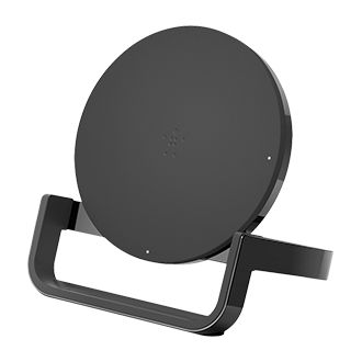 Belkin Boost Up Bold 10W Wireless Charging Stand - Midnight Black