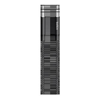 Belkin 3.5mm Metallic Aux Cable - Black