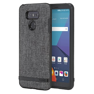 Lg G6 Incipio Esquire Series - Gray The Esquire Series Is Designed To Be An Extension Of Your Everyday Wardrobe. The Textures, The Fades—these Are Just A Few Of The Details That Make All The Difference. Handsome, Yet Protective, Esquire Cases Defend Your Phone From Accidental Drops And Scuffs, While Maintaining A Slim Frame That Fits Comfortably In Your Hand And Pocket.