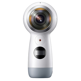 Samsung Gear 360 Camera Look All Around You. That's What You Capture With The Gear 360. Every Angle, All At Once, Every Time. Two 180 Degree Wide-Angle Lenses Take A Shot Simultaneously—and With Just One Click, You Can Merge Them To Produce A Seamless 360 Degree Image. With The Gear 360, You'll Catch Life's Every Detail—whether You're Shooting Up To 4k Resolution Videos Or A 15 Mp Photo. When Paired With The Gear 360 Application, Users Can Control The Camera Remotely As Well As Stitch, Edit And Share Content On The Go. Users Can Access Various Viewing Modes, And Editing Tools To Use On Their Own Content. With Real-Time Content Sharing, Users Can Share Their Moments At 2k Resolution To Platforms Including Facebook, Youtube And Samsung Vr. Gear 360 Is Compatible With A Selection Of Third-Party Accessories Through The Universal Mount On The Base Of The Device And Is Compatible With Select Samsung Flagship Devices, Ios Devices And Windows/mac Computers.