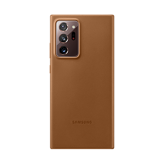 Samsung Leather Case for Samsung Galaxy Note20 Ultra 5G - Brown
