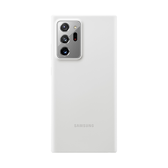 Samsung Silicone Case for Samsung Galaxy Note20 Ultra 5G - White
