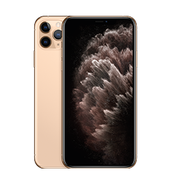 Apple - iPhone 11 Pro Max - Gold - 64GB