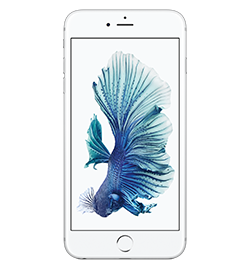 iPhone 6s Plus - Silver - 128gb With 3d Touch, A9 Chip, 12mp Camera With Live Photos And Optical Image Stabilization For Stills And Video, 5.5-Inch Retina Hd Display, And So Much More, You'll See How - With iPhone 6s Plus - The Only Thing That's Changed Is Everything. (screen Images Shown Reflect Ios 10). Device Purchase Requires A Sim Starter Kit Which Will Be Added To Your Order Automatically