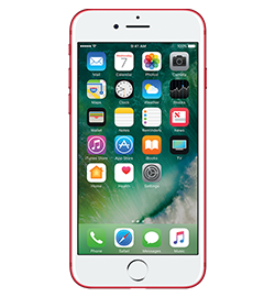 iPhone 7 - (product)red Special Edition - 128gb An Entirely New Camera System. The Brightest, Most Colorful iPhone Display Ever. The Fastest Performance And Best Battery Life In An iPhone. Water And Splash Resistant. And Stereo Speakers. Every Bit As Powerful As It Looks—this Is iPhone 7. Check It Out Device Purchase Requires A Sim Starter Kit Which Will Be Added To Your Order Automatically.