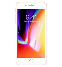 iPhone 8 Plus - Gold - 256gb iPhone 8 Plus Features An All-Glass Design And An Aerospace-Grade Aluminum Band. Charges Wirelessly. Resists Water And Dust.2 5.5-Inch Retina Hd Display With True Tone. 12mp Dual Cameras With Portrait Mode And Portrait Lighting. Powered By The A11 Bionic Chip. Supports Augmented Reality Experiences In Games And Apps. And With Ios 12—the Most Advanced Mobile Operating System—you'll Have Powerful New Tools That Make iPhone More Personal Than Ever. Check It Out Device Purchase Requires A Sim Starter Kit Which Will Be Added To Your Order Automatically.