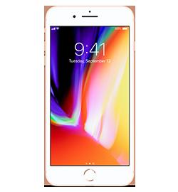 Apple - iPhone 8 Plus - Gold - 64GB