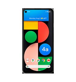 Google - Pixel 4a (5G) - Just Black - 128GB