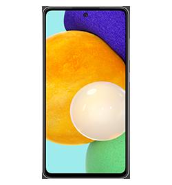 Samsung - Galaxy A52 5G - Awesome Black - 128GB