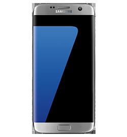Samsung Galaxy S7 edge - Silver Titanium - 32GB - Prepaid
