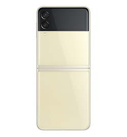Samsung - Galaxy Z Flip3 5G - Cream - 128GB