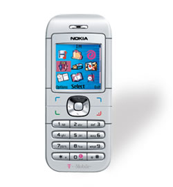 T Mobile Nokia 6030 Prepaid Cell Phone With Free 25